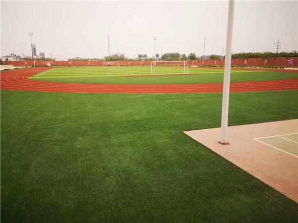 西安绿地城DK-4项目小学健身器材及操场铺装工程