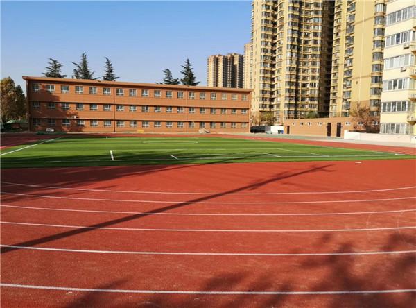 西安高新某小学操场施工项目
