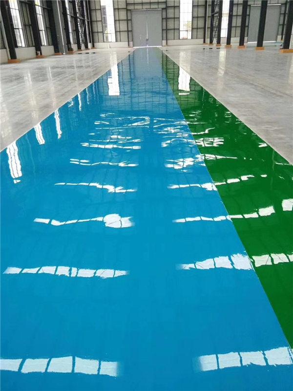 浅析西安环氧地坪漆的色彩作用有哪些?