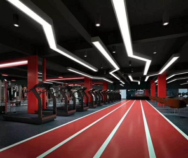 健身房塑胶地板