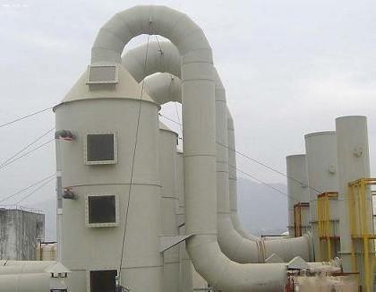 四川废气处理设备——废气净化塔的工作原理