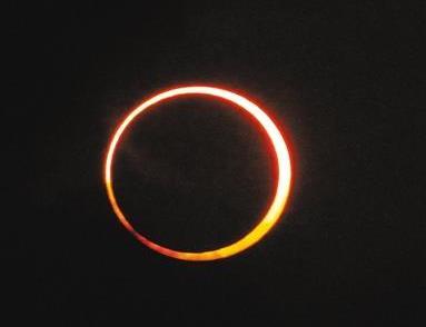 天文预测,6.21日多地可观测金环日食