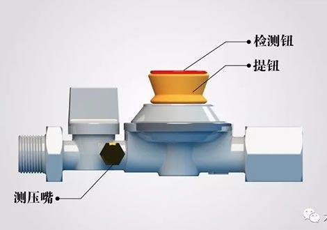 外围体彩软件自闭阀在农村煤改气中的应用