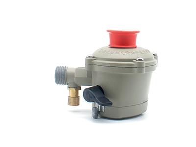 瓶装液化石油气调压器【直阀】 螺纹连接可选承插连接