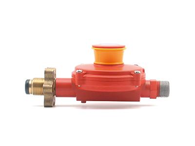 瓶装液化石油气调压器【角阀】 螺纹连接