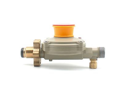 瓶装液化石油气调压器【角阀】 螺纹连接可选承插连接