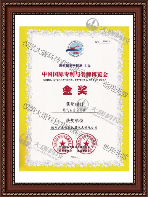 中國國際..與..博覽會金獎