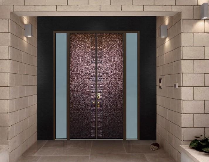 咸阳厂家供应铜木装甲门