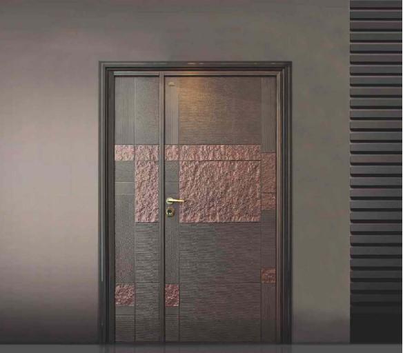 永安兴庆门业铝木装甲门