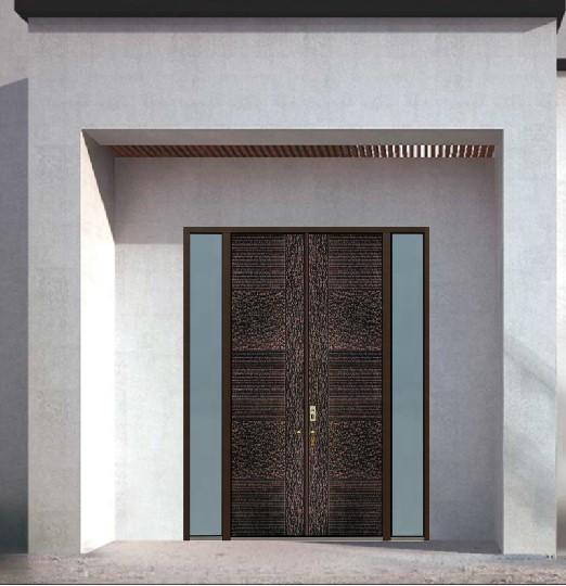 陕西铜木装甲门
