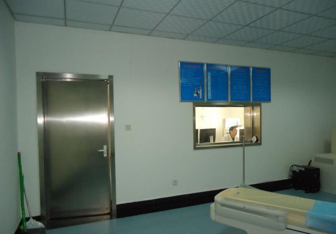 医用防辐射门安装