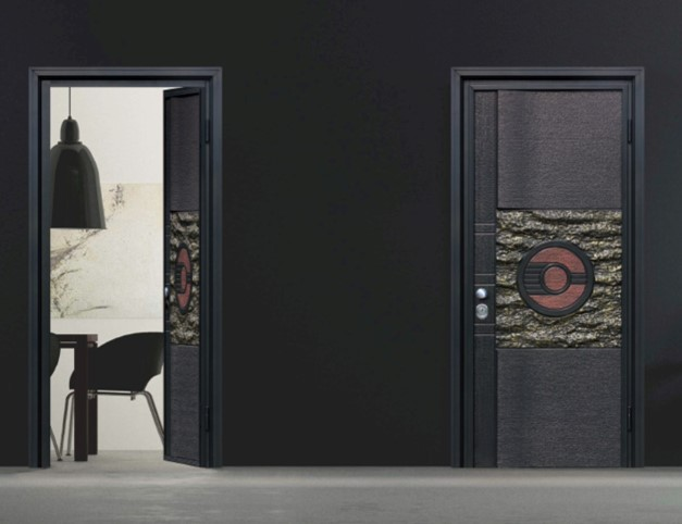 铝木装甲门