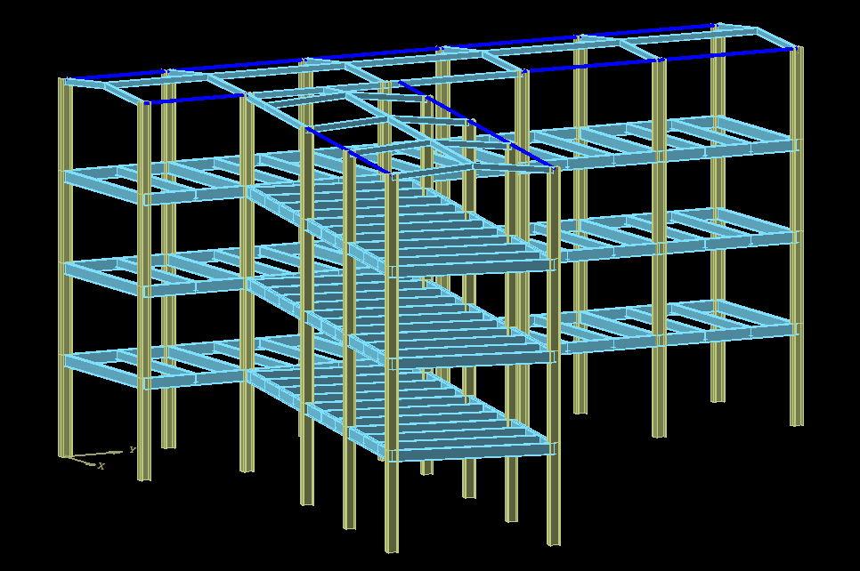 成都热轧钢板案例-西昌金成学校钢结构宿舍楼钢结构综合楼
