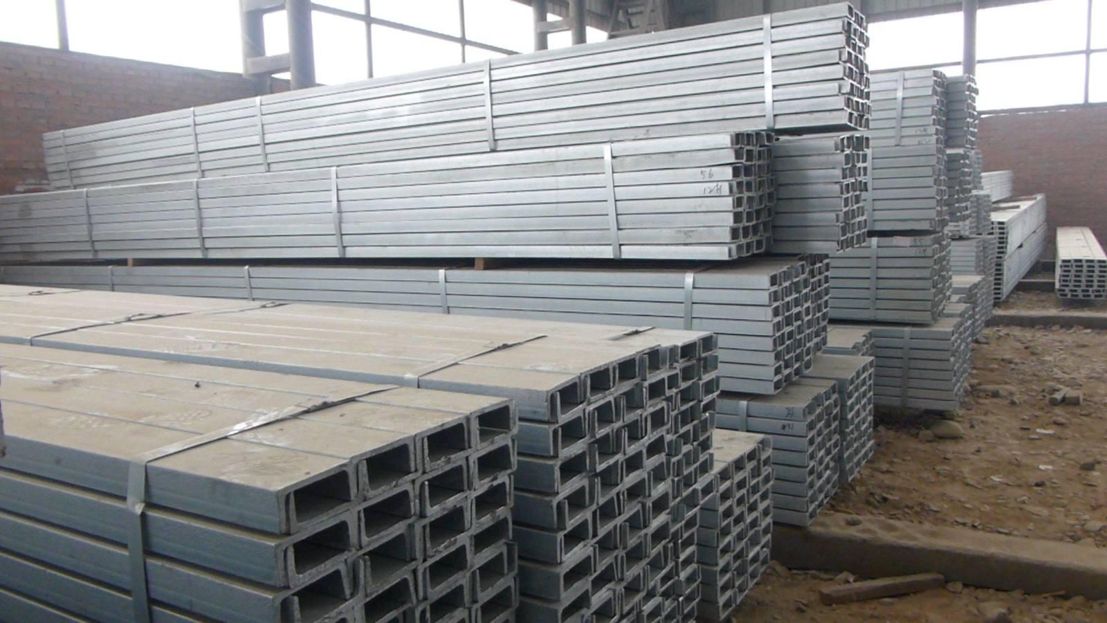 成都镀锌槽钢-Q235B Q345B