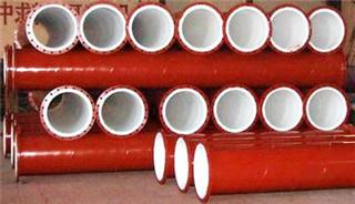 成都衬塑管件规格
