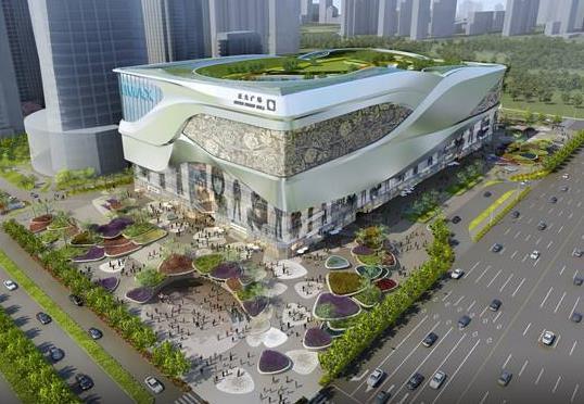 洛阳正大广场牡丹园和大剧院