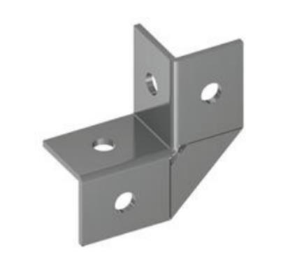 4孔直角连接件