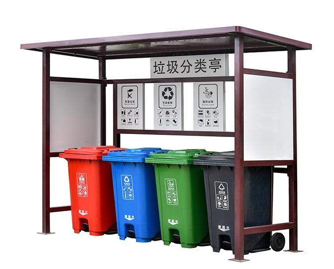 宜昌環衛產品分類垃圾亭