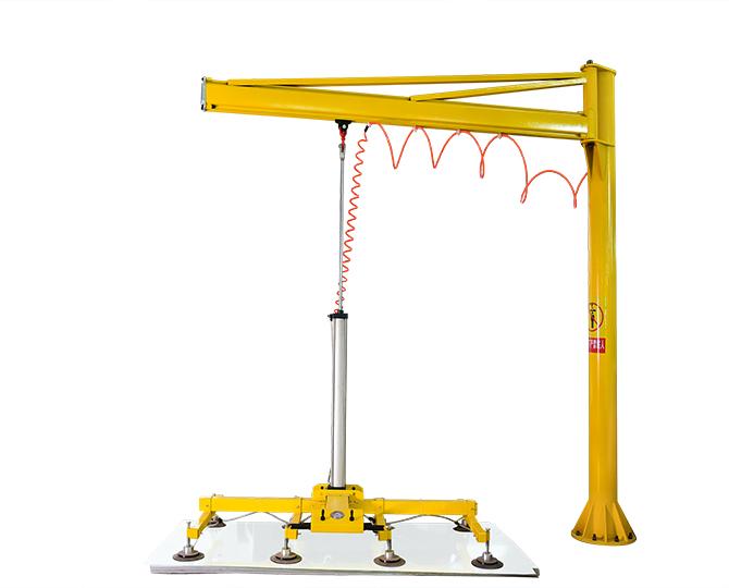 公司設備-搖臂氣動激光切割機上料設備