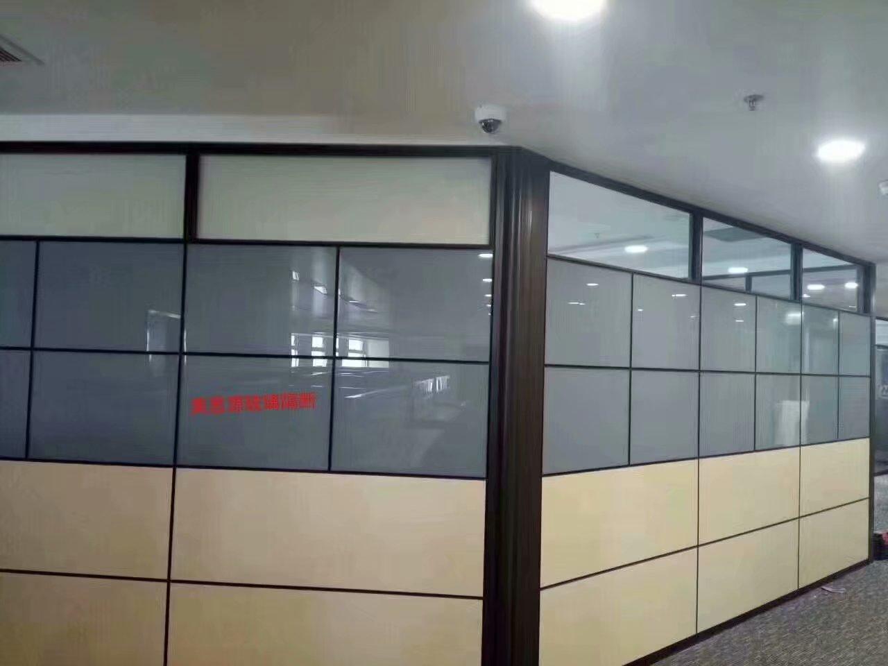 成都铝合金玻璃隔断安装