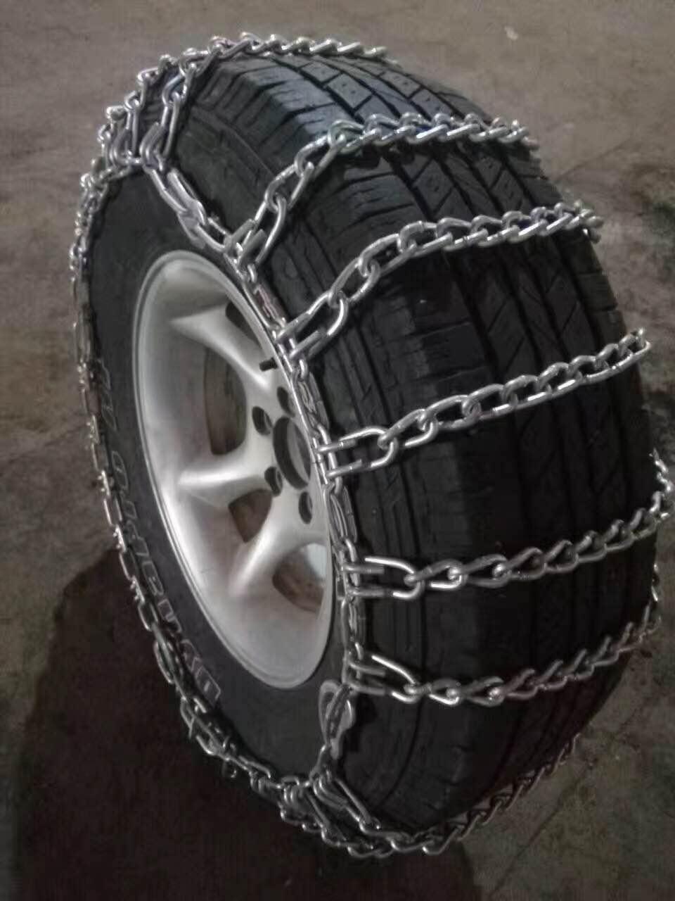 橡胶防滑链的安装方法
