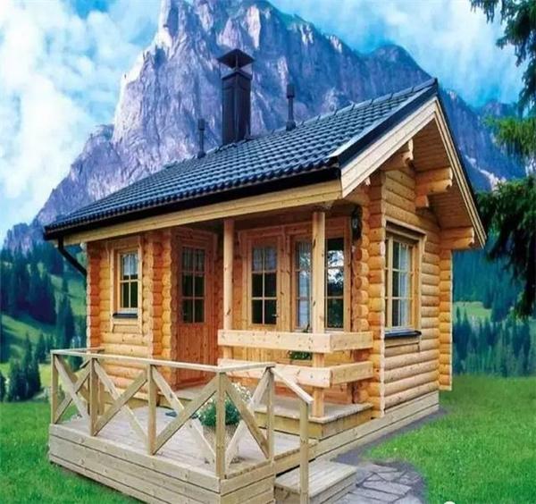 26款现代式木屋,不同于欧式的典雅,更易亲近自然,新疆木屋别墅专业定制