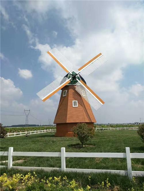 景区大风车