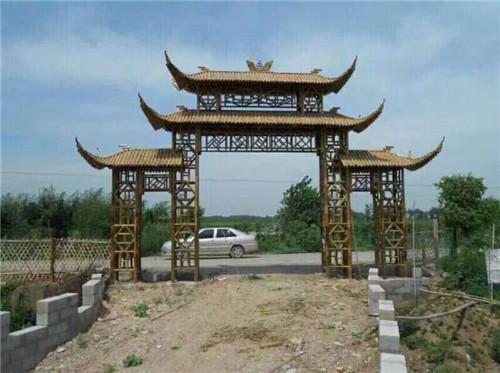 新疆防腐木别墅