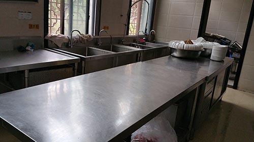 四川商用厨房设备案例