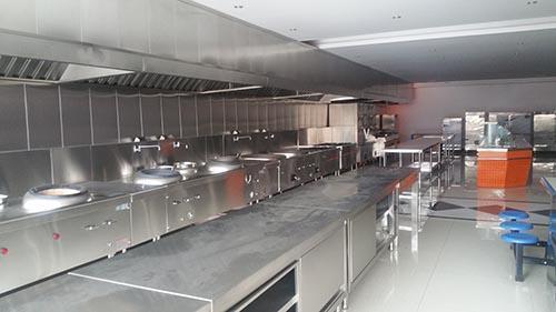 四川厨房设备有限公司案例—青城山世外度假酒店