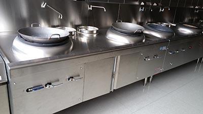 成都廚房設備工廠案例
