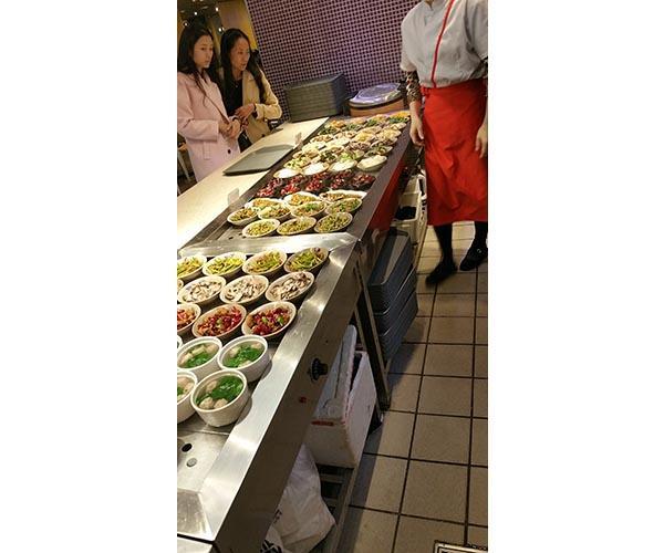 四川商用廚房設備學校案例