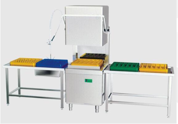 山东不锈钢永利娱乐厂揭盖式洗碗机