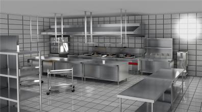 四川不锈钢厨具之大型厨房设计注意事项