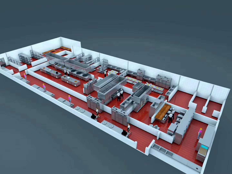四川厨房设备设计方案