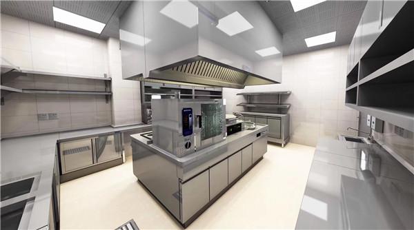 大型商用厨房设备设计方案