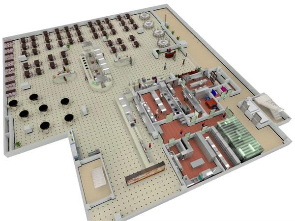 成都大型厨房设备设计方案