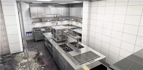 四川某单位不锈钢厨房设备安装成功案例