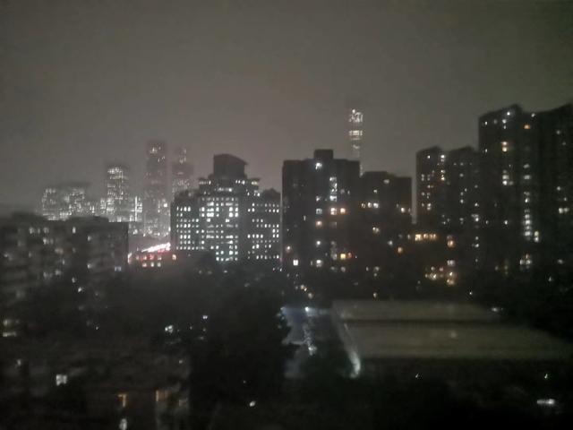 北京白昼如夜