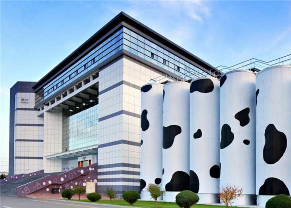 蒙牛乳业施工