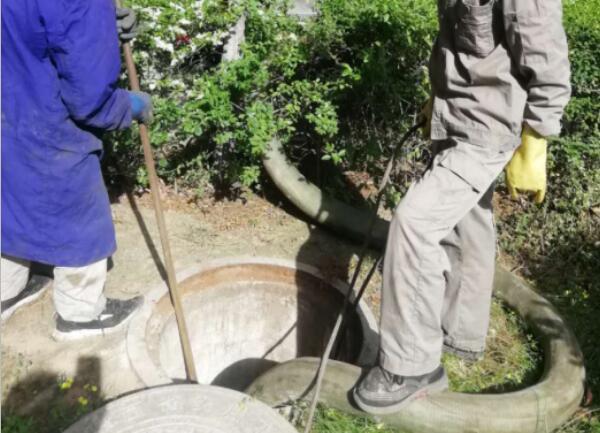 定期清理污水井,为民解难题!