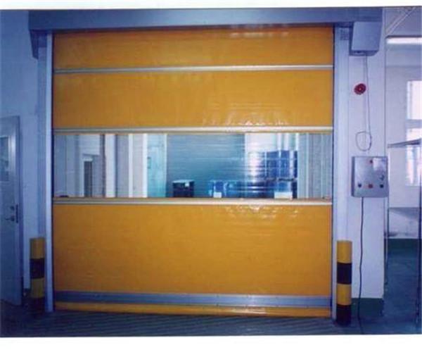 我们常见的快速卷帘门的弹簧调整及安装方式