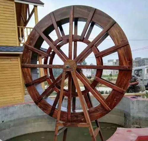 贝博水车施工案例