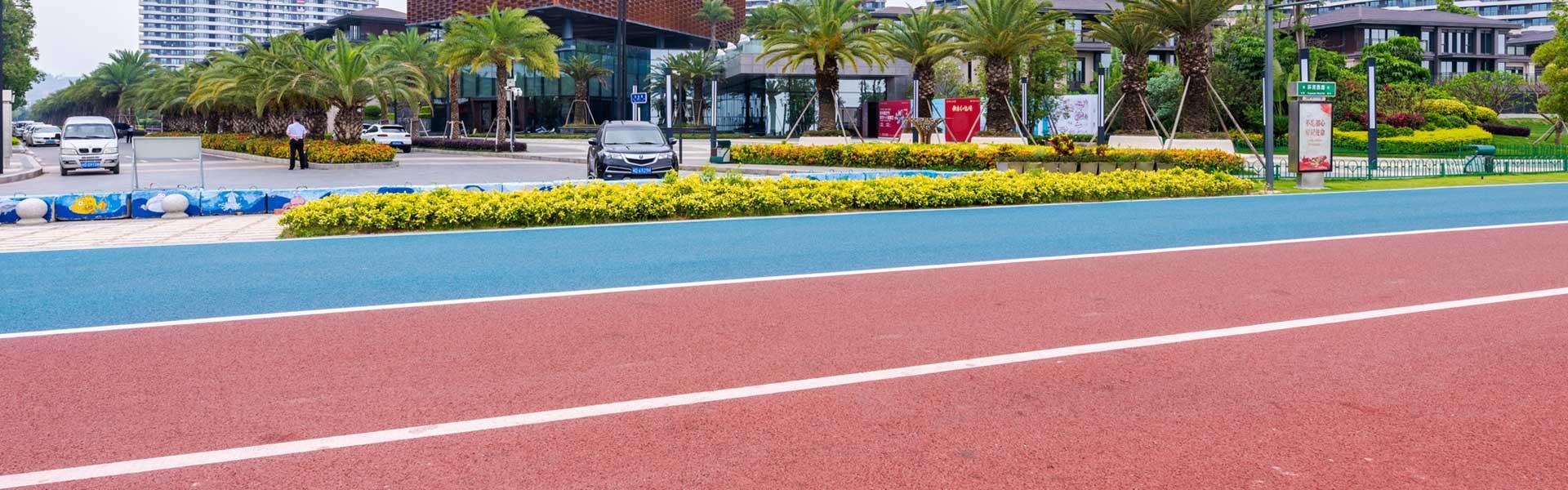 简述陕西学校操场塑胶跑道有哪些特点