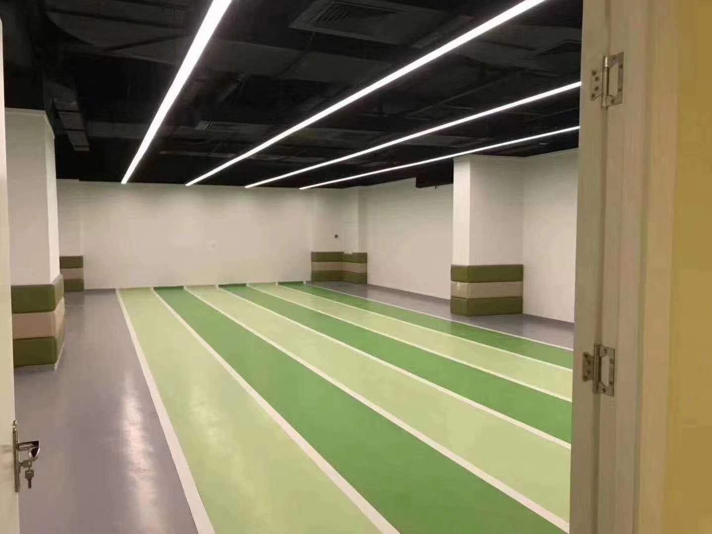 塑胶地板工程
