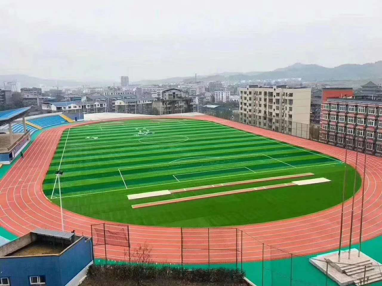 陕西人造草坪施工