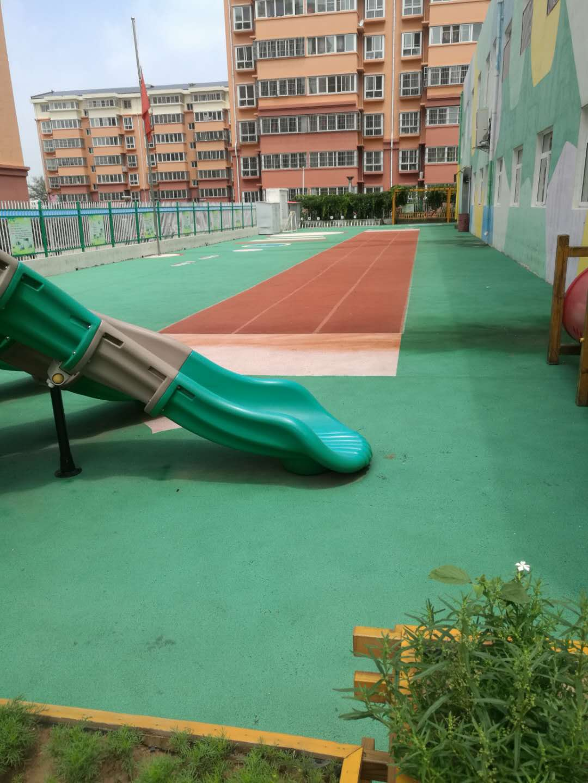 神木市海嘉幼儿园塑胶跑道案例