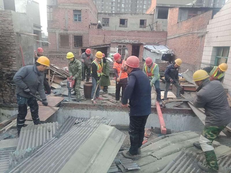 陕西建筑物拆除施工