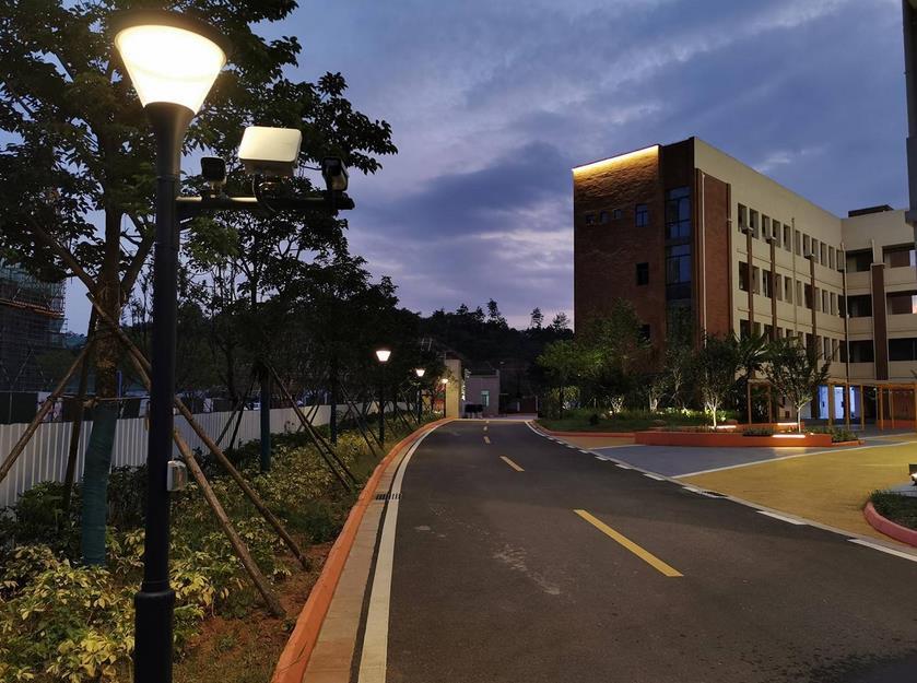 校园景观亮化