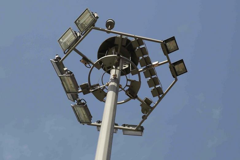 高杆灯安装